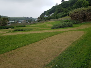 The Putting course at Coronation Gardens in Polzeath, Cornwall. Photo by Dan Paynton, June 2018