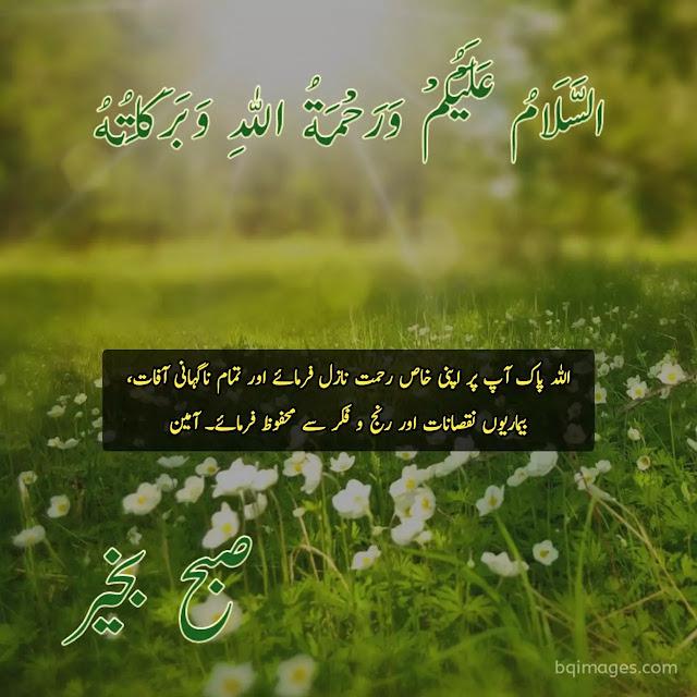 Good Morning Images In Urdu