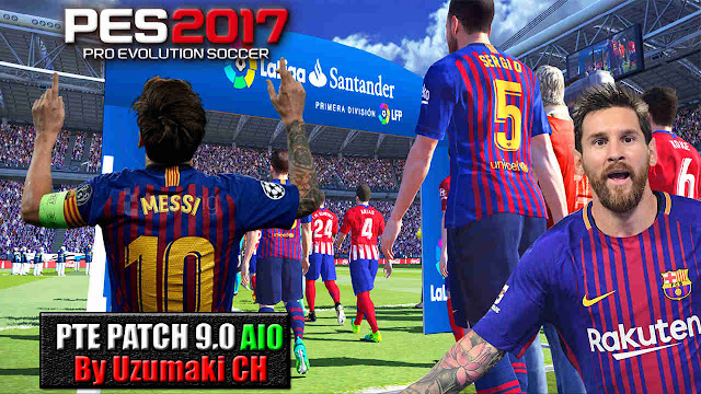 PES 2017 PTE Patch 9 0 AIO (Unofficial)