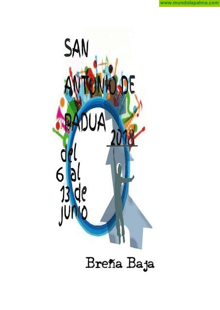 Programa de actos Fiesta de San Antonio de Padua 2018