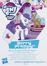 My Little Pony Wave 20 Berry Preppy Blind Bag Card
