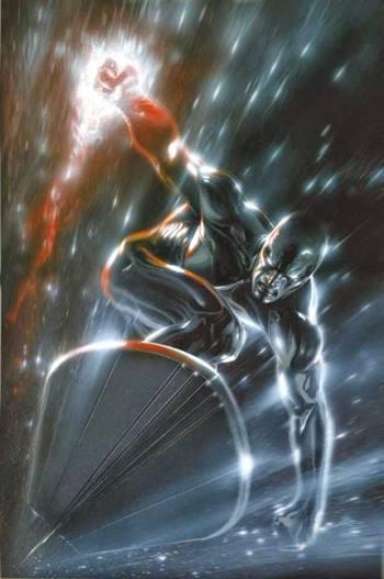 Silver Surfer es un superhéroe de Marvel