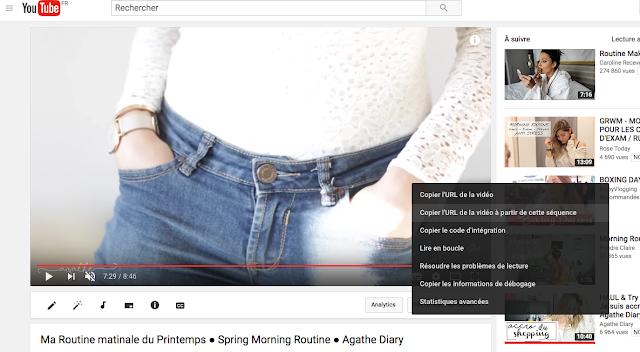 5 astuces YouTube partager une vidéo à partir d'un moment précis