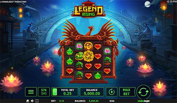 Main Gratis Slot Indonesia - Legend Rising Megaways Stakelogic