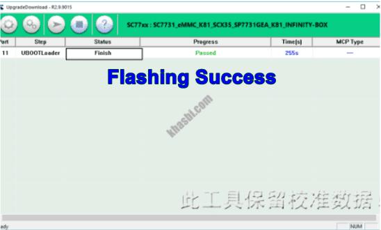 Flash Advan S7C Finish
