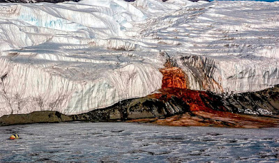 Blood falls, Antartica