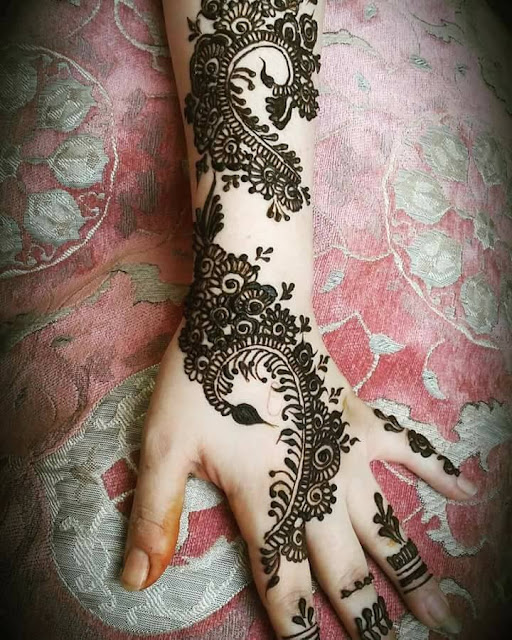 Bridal Mehandi Designs for Hands 6