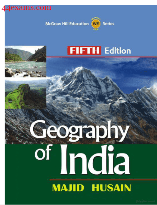 Geography-of-India-By-Majid-Husain-For-UPSC-Exam-PDF-Book