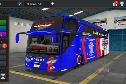 Livery Bussid Mod Bus scania - PATWAL