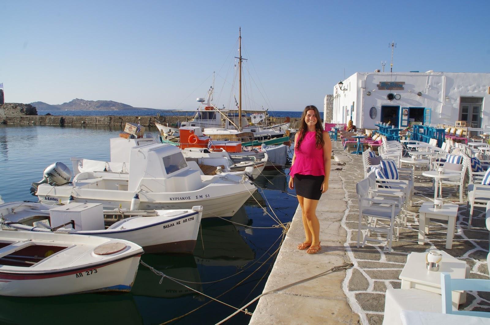 Girl in Naoussa Paros