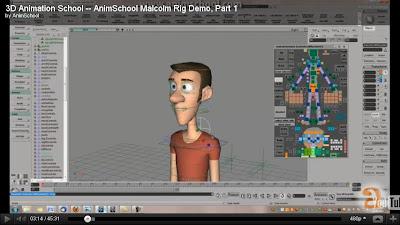 Free Rig: Malcolm Rig | Animators Resource