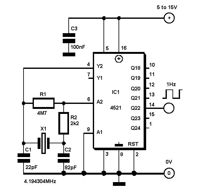 Radiotech modding labs: Генераторы секундных импульсов