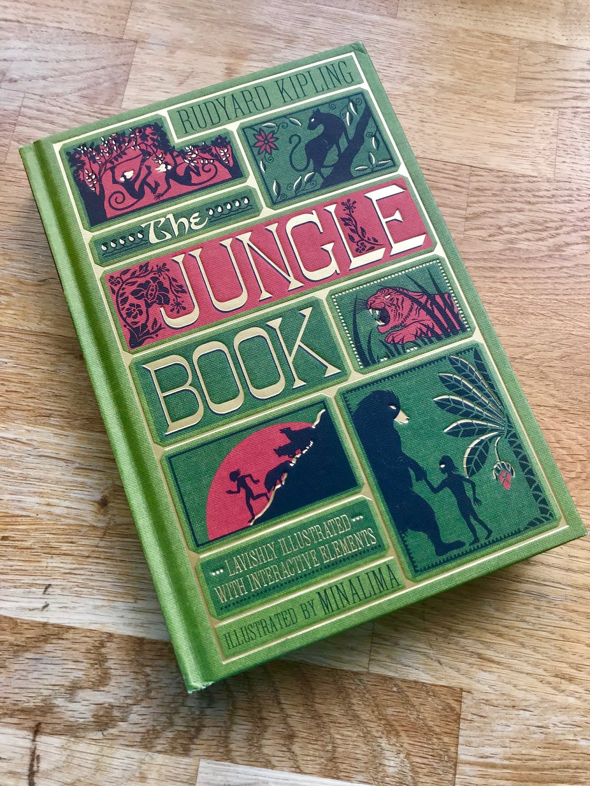Feeling Fictional: Review: The Jungle Book (Illustrated with