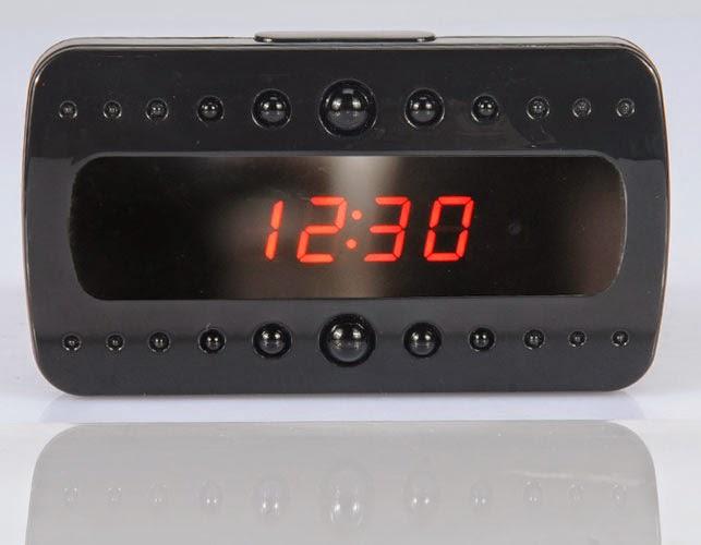 Купить настольные часы со скрытым видеонаблюдением