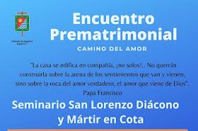 Encuentro Prematrimonial Camino del Amor