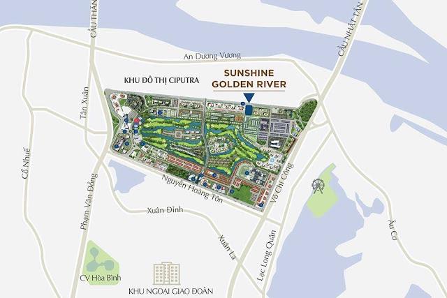 Mở bán Dự án chung cư Sunshine Golden River Ciputra Tây Hồ