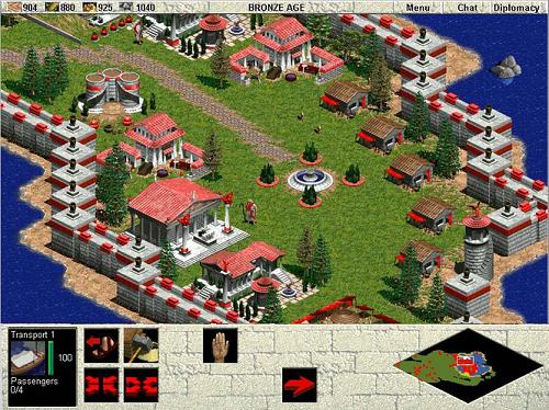 Các loại nhà chỉ trong Age of Empires là phần tử phải nhớ tạo ra sự yếu tố chiến thuật của phiên bản này