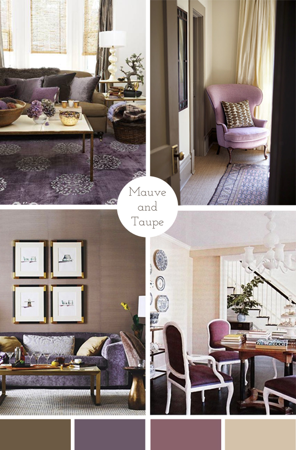 The Pink Doormat Mauve And Taupe