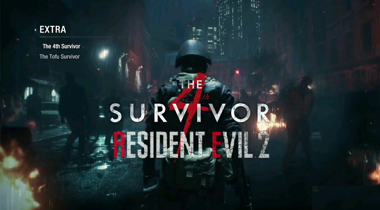 Resident Evil 2: How to Unlock Tofu Survivor and 4th Survivor Hunk