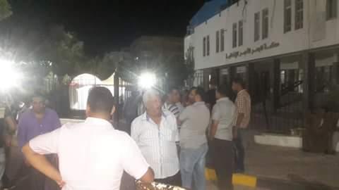 مظاهرات الان امام محكمةالغردقة