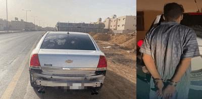 """تفاصيل وفاة """"رجل المرور"""" هاني العتيبي دهساً في أحد شوارع الرياض"""