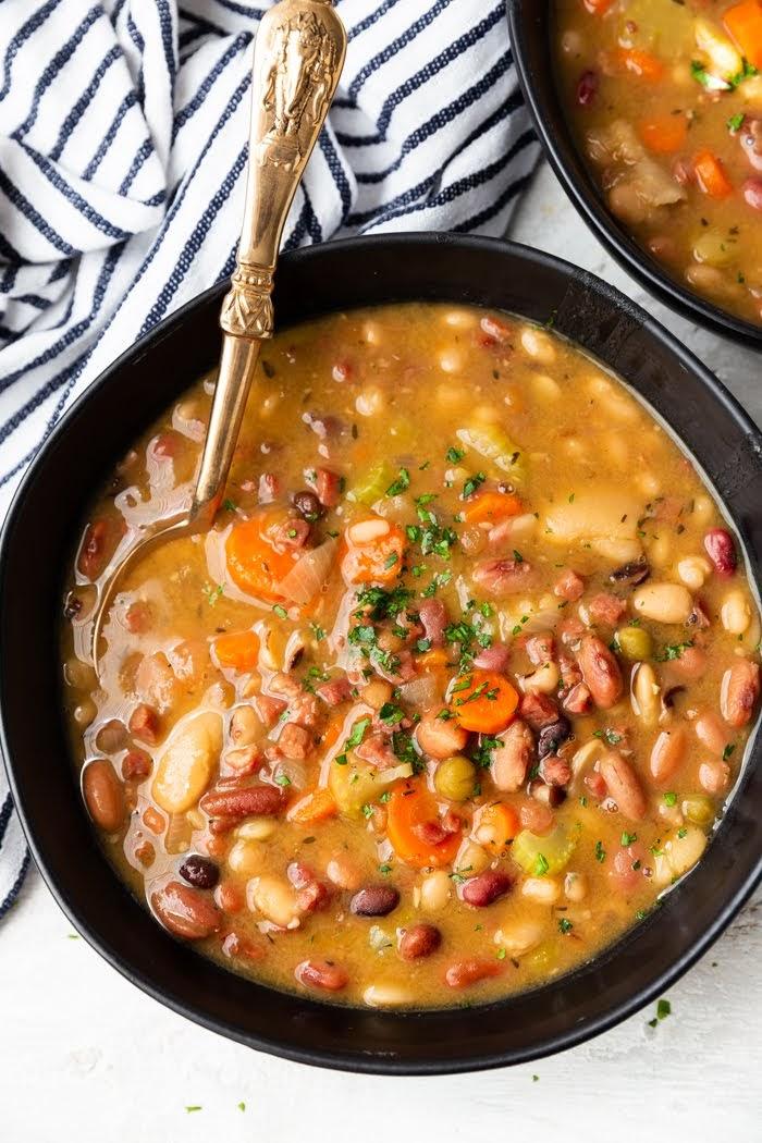 Ham and Bean Soup | Eazy Peazy Mealz