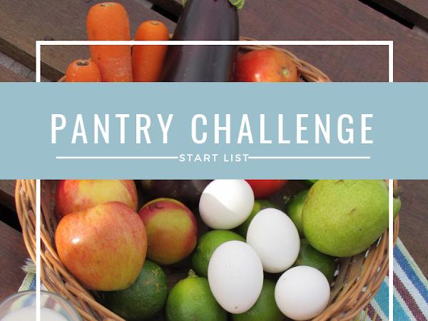 October Pantry Challenge Stockpile List