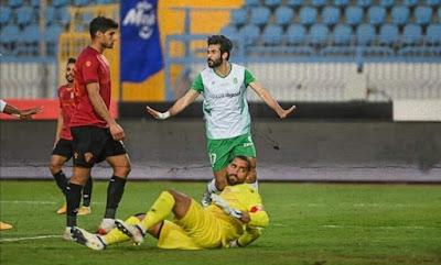 اهداف مباراة سيراميكا كليوباترا والاتحاد السكندري (1-1) الدوري المصري