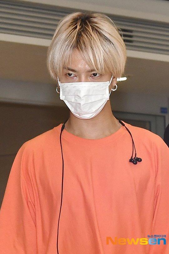 Yesung havaalanında 'öfkeli' bir bakış attı