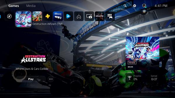 تسريب فيديوهات جديدة تكشف عن واجهة المستخدم الرئيسية لجهاز PS5 و تفاصيل إضافية