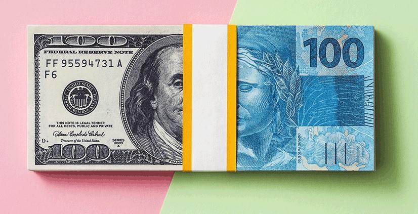 cuenta en dolares en Brasil