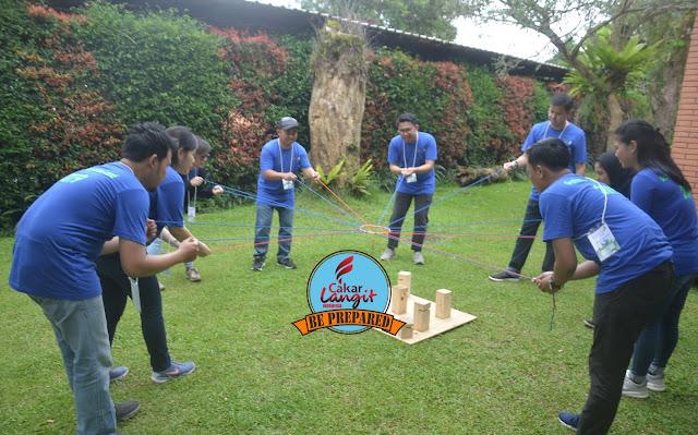 paket outbound di Kinasih Resort Caringin Bogor