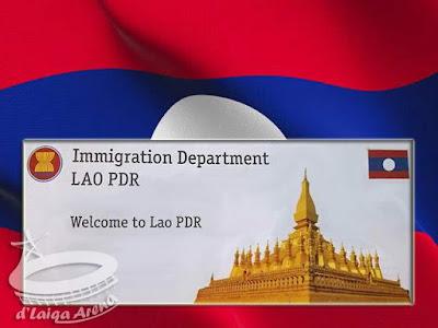Kartu Imigrasi Laos