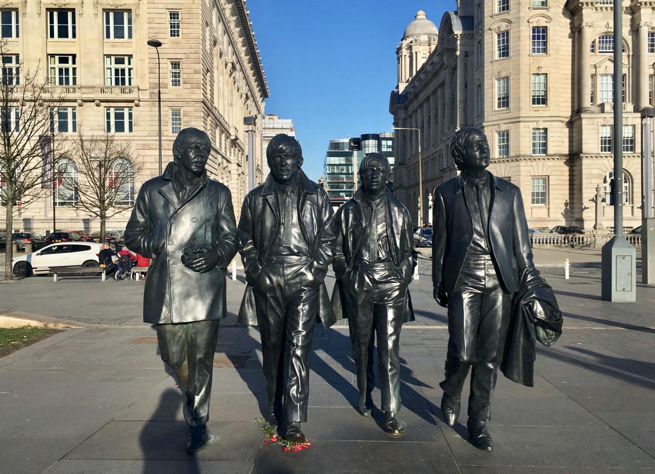 Beatles Statue - Liverpool city break