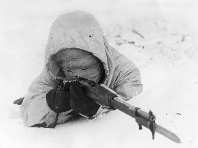 30 December 1939 worldwartwo.filminspector.com Finnish soldier