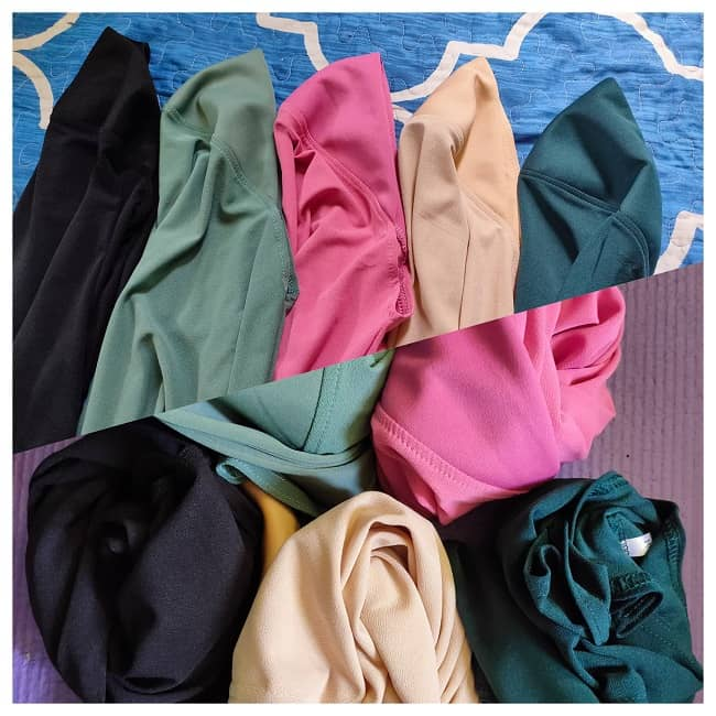 review tudung awning mosscrepe