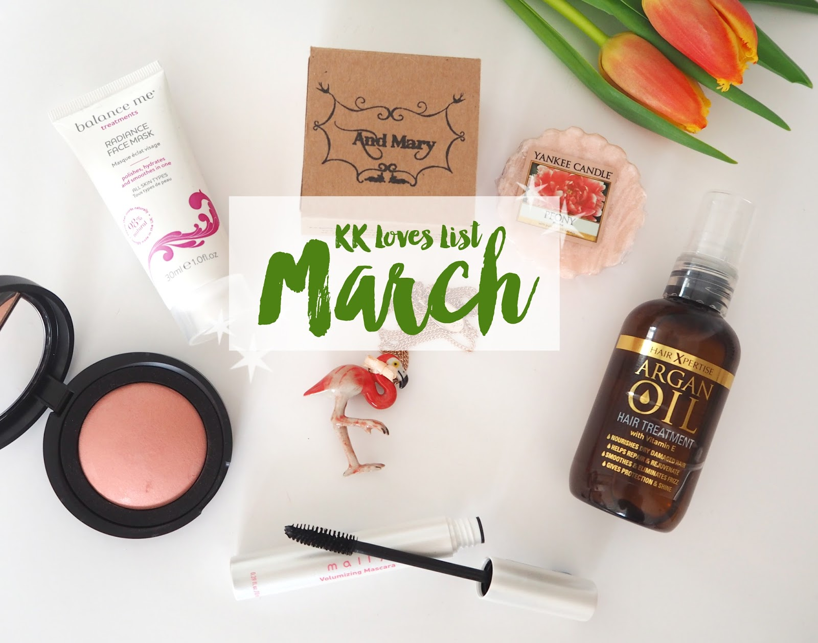 Loves List: March Favourites | Katie Kirk Loves