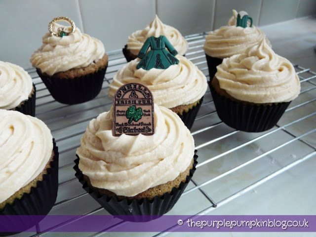 Chocolate & Bailey's Irish Cream Cupcakes | The Purple Pumpkin Blog