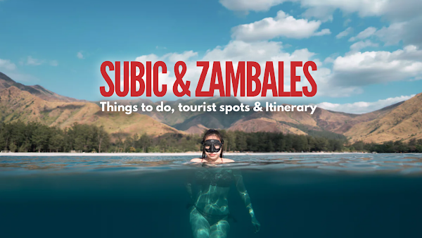 THINGS TO DO IN SUBIC TOURIST SPOTS AND PLACES TO VISIT IN ZAMBALES