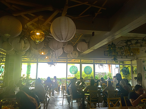 inside Yellow Lantern Cafe 2