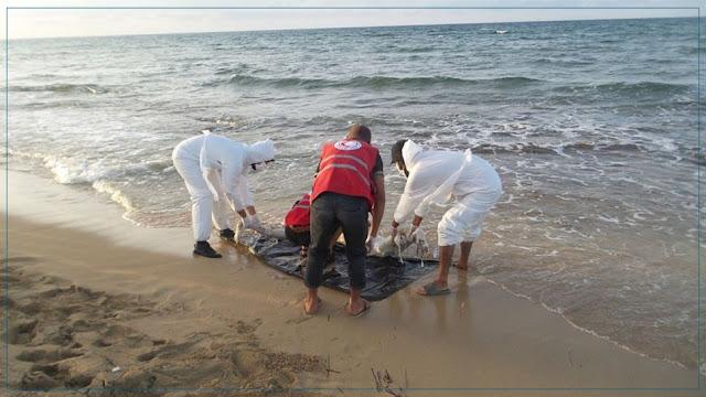 المهدية : انتشال 29 جثة لمهاجرين غير نظاميين