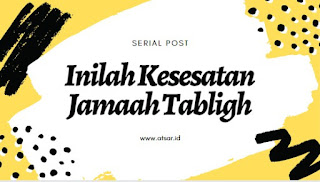 Jamaah Tabligh, Antara Kenyataan dan Pengakuan