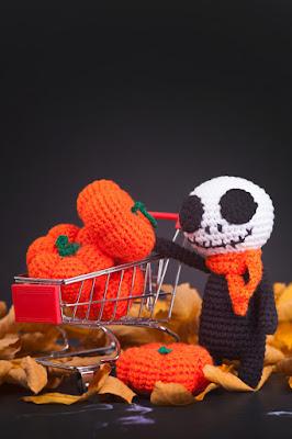Decoração de halloween  Amigurumi