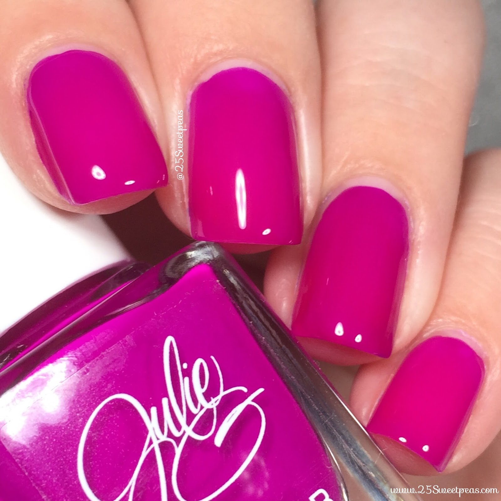 Julie G Nail Polish Fierce & Fab