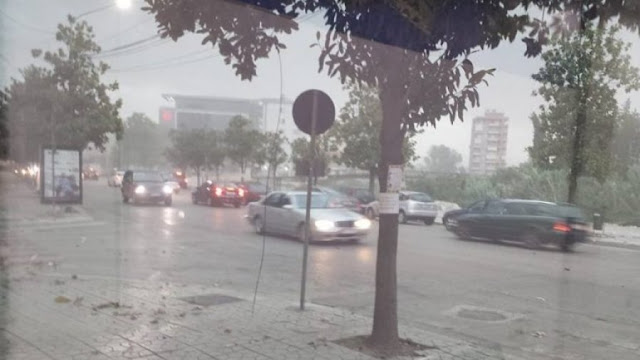 Scary storms hit Ulcinj and Shengjin, only material damages