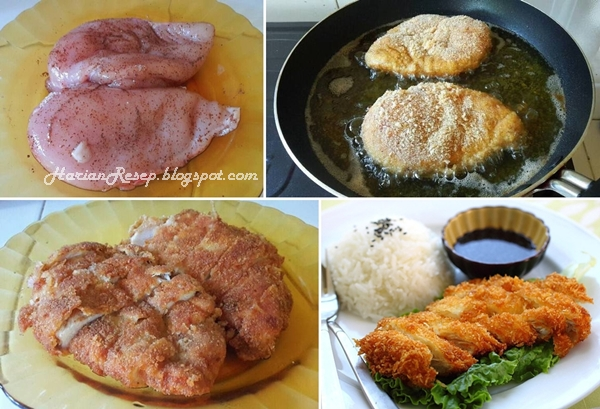 Resep Chicken Katsu dan Cara Membuatnya