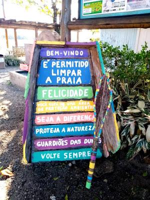 Exposição, instalação de placas e visitas de estudantes  nas comemorações pelo Dia do Meio Ambiente na Ilha