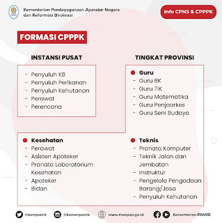 Formasi CPPPK 2021