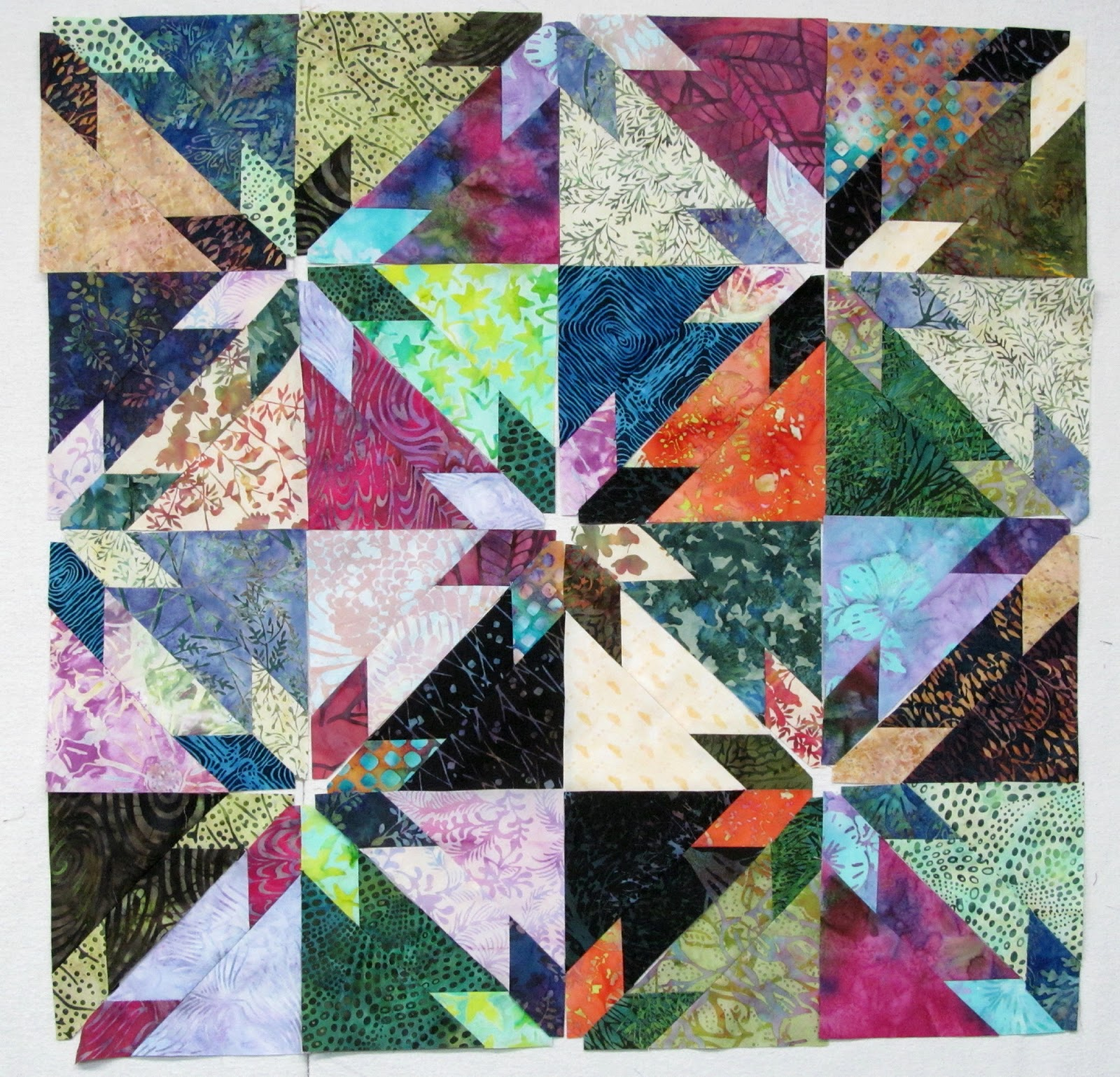 Exuberant Color 3 Ways To Make Hunter Star Quilts