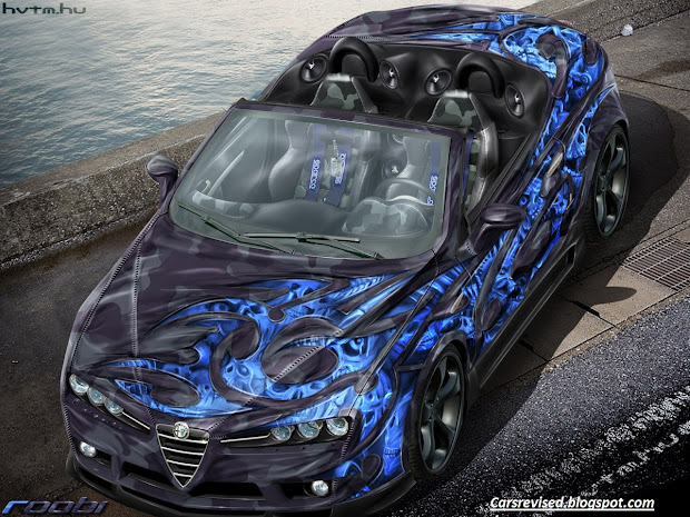 Auto-tuning-glichkeit In Airbrush Cars